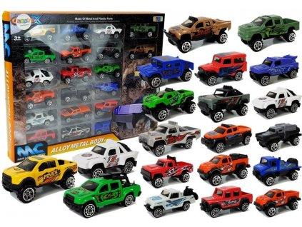 sada kovových autíček (1)