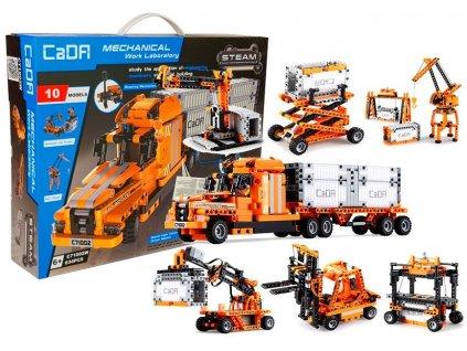 Konstrukční stavebnice 10 vozidel 3