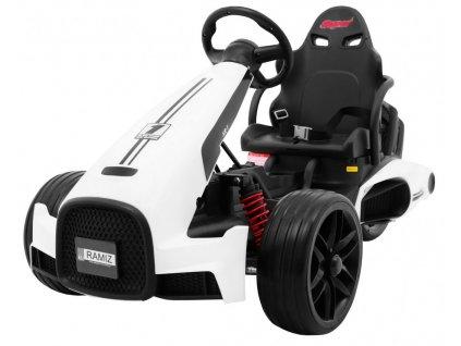 Pojazd Bolid XR 1 Bialy [25156] 1200