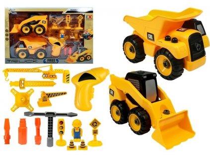 Šroubovací sada stavebních vozidel