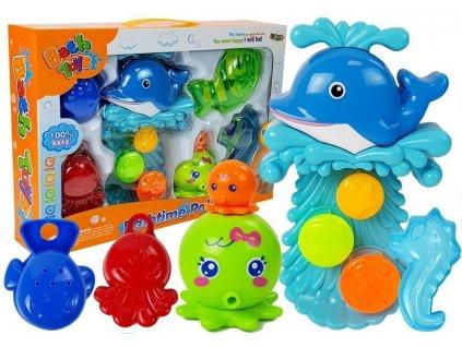 Sada mořských zvířat do vany