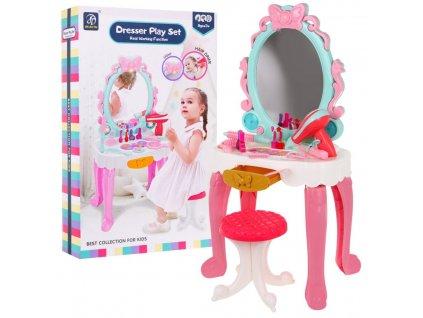 Kosmetický stoleček pro malé princezny