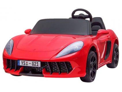 Dětské elektrické autíčko Perfecta Lift červené 1