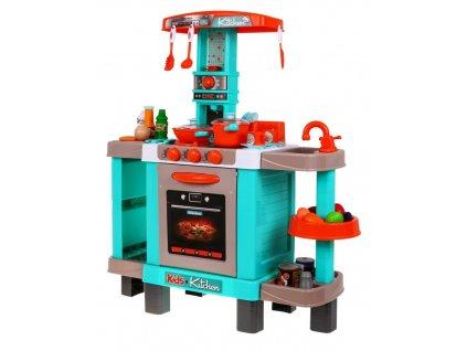 Dětská interaktivní kuchyňka modrá 3