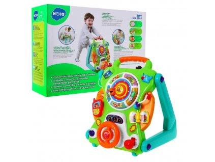 Dětská interaktivní chodítko 2v1