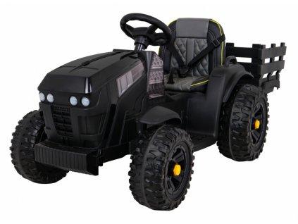 Dětský elektrický traktor Farm s přívěsem01