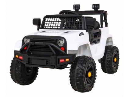 Elektrické autíčko jeep Dark Night bílé (1)
