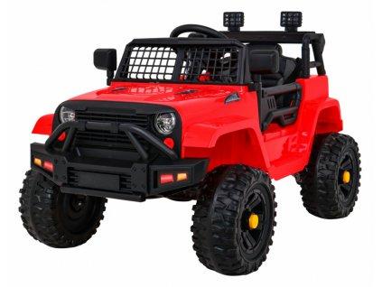 Elektrické autíčko jeep Dark Night červené (13)