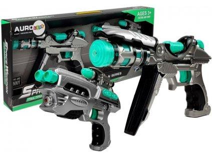 sada vesmírných pistolí (1)