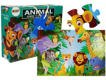 Dětské puzzle džungle 48 ks