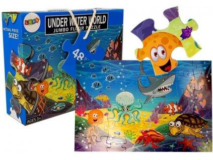 Dětské puzzle mořský svět 48 ks