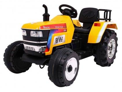 elektrický traktor žlutý (1)