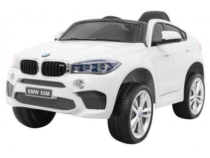 Elektrické autíčko BMW X6 M bílé