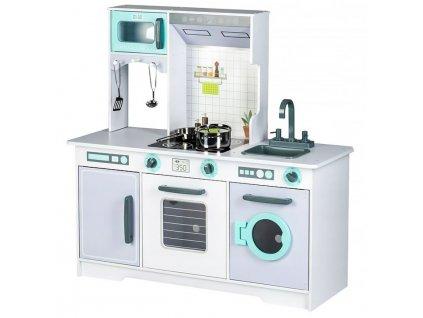 dětská dřevěná kuchyně s pračkou (2)