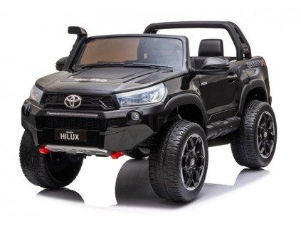 Dětské elektrické autíčko Toyota Hilux 4x4 černé 2