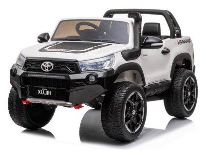 Dětské elektrické autíčko Toyota Hilux 4x4 bílé 5