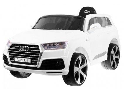 Elektrické autíčko AUDI Q7 bílé