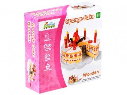 dřevěný narozeninový dort7