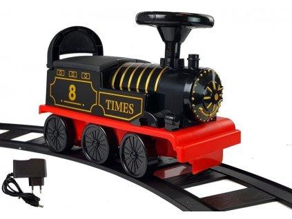 Jezdící lokomotiva na baterie