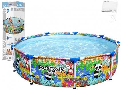 Bazén Bestway Steel Pro 274 x 66 cm