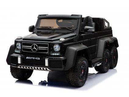 Elektrické autíčko Mercedes G63 6x6 černé ROZBALENO