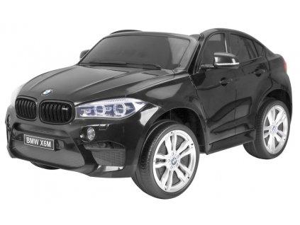 Elektrické autíčko BMW X6 M 2 os. XXL černé ROZBALENO