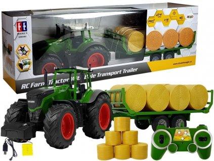 traktor s přívěsem2