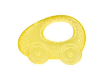 Chladící kousátko autíčko žluté