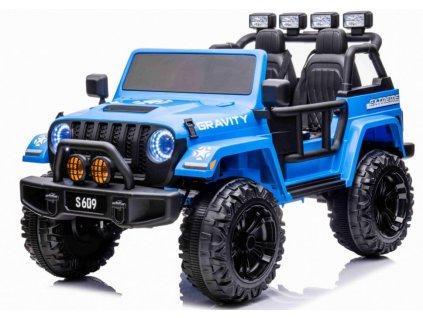 Elektrické autíčko gravity strong modré01