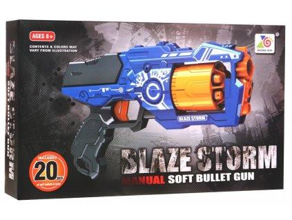 Dětská poloautomatická pistole Blaze Storm 7092