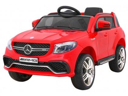 Elektrické autíčko Mercedes - Benz AMG 63, červené