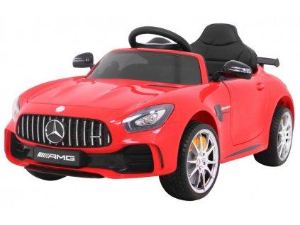 Elektrické autíčko Mercedes AMG GT R, červené