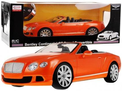 Bentley Continental GT Speed Cabrio na dálkové ovládání-Oranžové