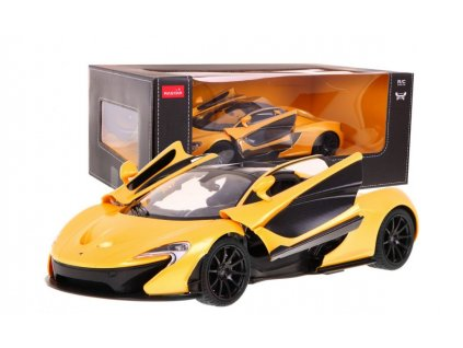 McLaren P1 na dálkové ovládání žluté