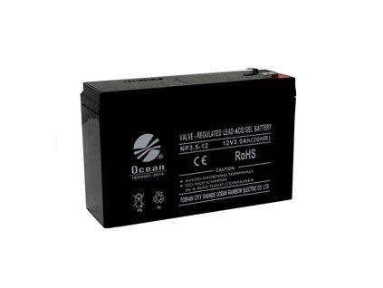 pol pm Akumulator zelowy do auta na akumulator 12V3 5Ah 1258 3