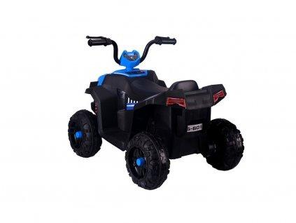 Elektrická čtyřkolka S601 modrá