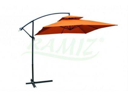 Parasol Ogrodowy Kwadratowy Orange Pomarancz [13953] 1200