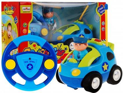 Autíčko modrá policie 66011