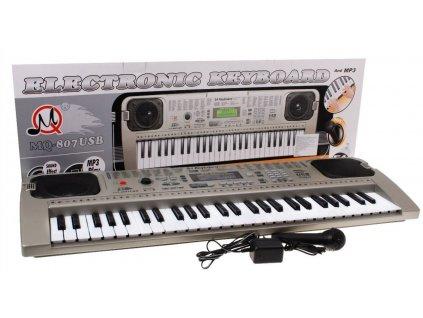 Keyboard s příslušenstvím -  mikrofon, USB