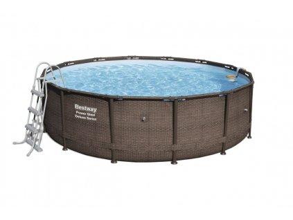 Velký zahradní bazén s konstrukcí Power Steel  427 x 107 cm