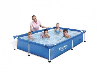 Zahradní bazén pro děti 221 x 150 x 43 cm