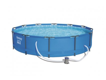 Zahradní bazén s konstrukcí 366 x 76 cm