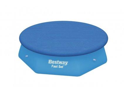 Bestway krycí plachta na bazén s límcem kryt 244 cm 58032