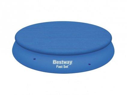 Bestway krycí plachta na bazén s límcem kryt 366 cm 58034