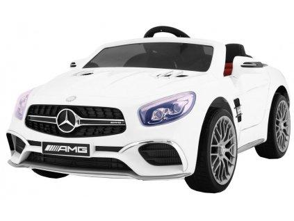 Elektrické autíčko Mercedes Benz AMG SL65, bílé