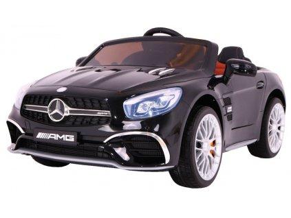 Elektrické autíčko Mercedes Benz AMG SL65, černé