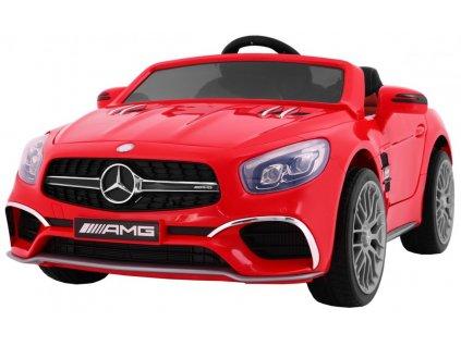 Elektrické autíčko Mercedes Benz AMG SL65, červené