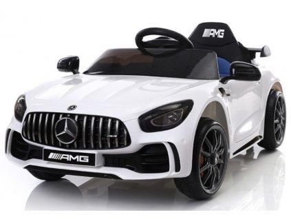 Dětské elektrické autíčko Mercedes GTR bílé