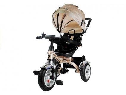 dětská tříkolka pro 500 béžová 1