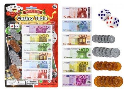 Set bankovek a mincí1